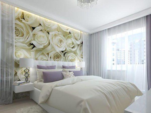 Фотообои в спальню с розами - лучшее от Арт-Принт