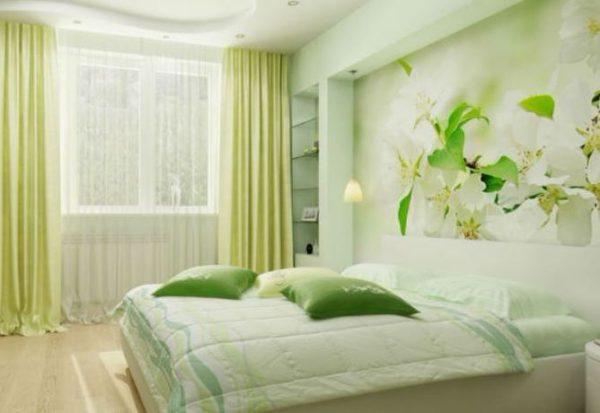 Фотообои в спальню весенние цветы - лучшее от Арт-Принт