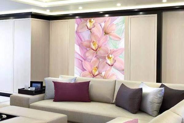 Фотообои в гостиную с орхидеями от Арт-Принт